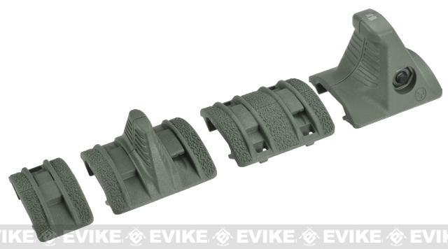 Magpul XTM Hand Stop Kit - Foliage Green