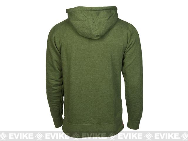 z Magpul� Sweatshirt, Pull-Over Hoodie - Olive Heather (Size: Small)