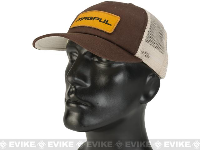 z Magpul Tailgate Cap - Chocolate w/ Black & Yellow Logo