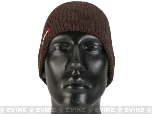 Magpul Rib Knit Beanie - Chocolate