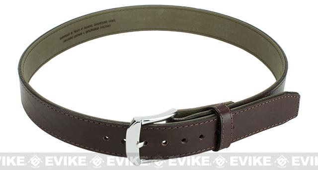 Magpul El Original Tejas Leather Gun Belt - Chocolate (Size: 36)