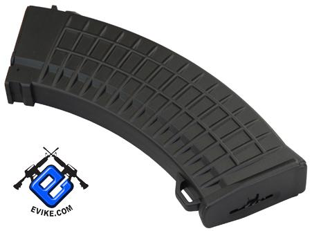 Matrix Bulgarian Waffle Type 600rd Hi-Cap Magazine for AK Series Airsoft AEG - Black