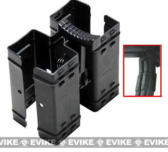 Metal Dual Magazine Clamp for MP5 UZI Series Magazine Clips
