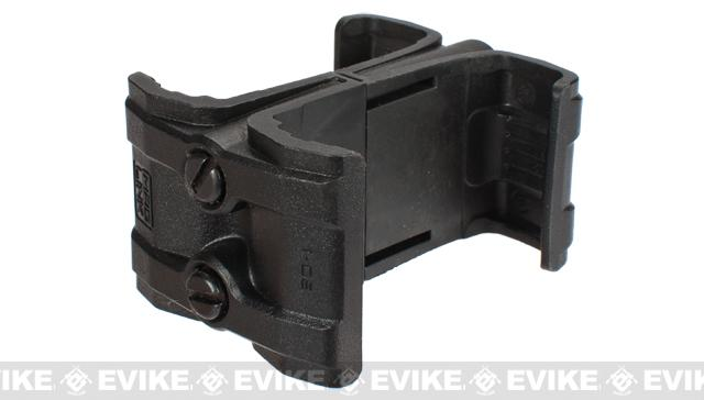 Magpul PTS MAGLINK PMAG Airsoft Magazine Coupler / Mag Clamp - Black