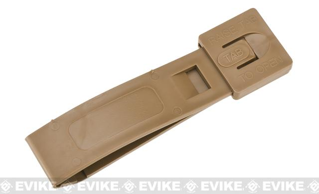 Tactical Tailor MALICE Modular Webbing Clips (Short) - Coyote Brown / Single