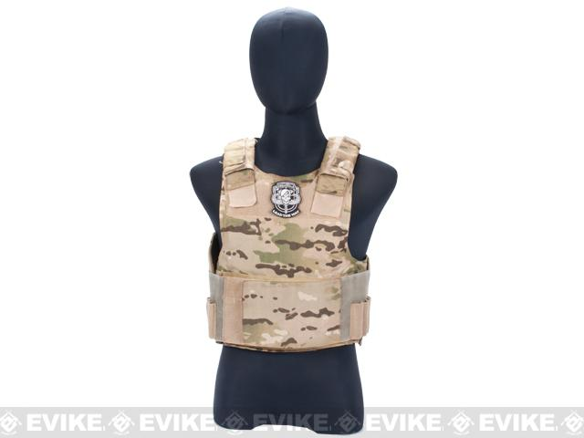 z Evike Super Store Refurbished Tactical Vest Organizer / Display Mannequin w/ Head