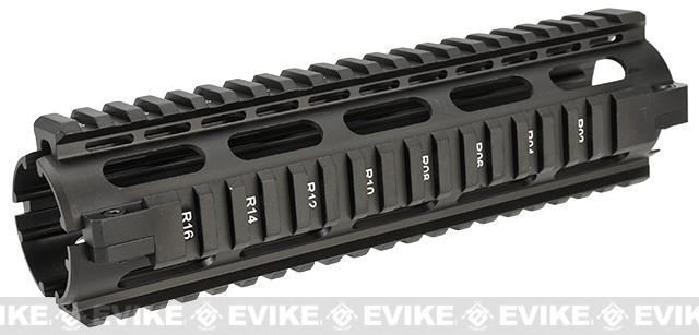 NcSTAR 8.6 Mid-Length Quad Rail for M4 / M16 Airsoft AEG Rifles