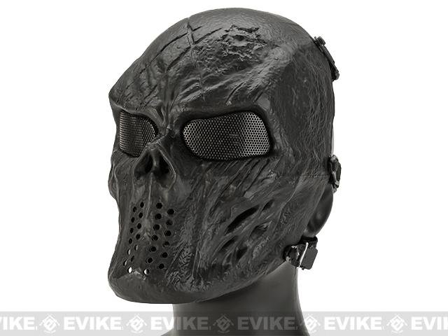 Avengers Full Face Mesh Mask (Style: Black God)