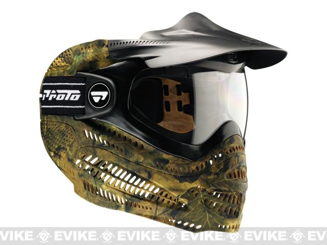 Dye Switch EL Full Face Mask - Woodland Camo