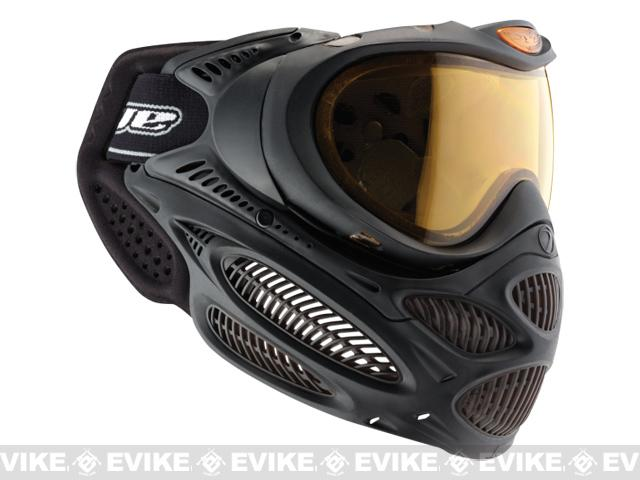 Dye i3 Pro Airsoft Full Face Mask - Black / Thermal Lens