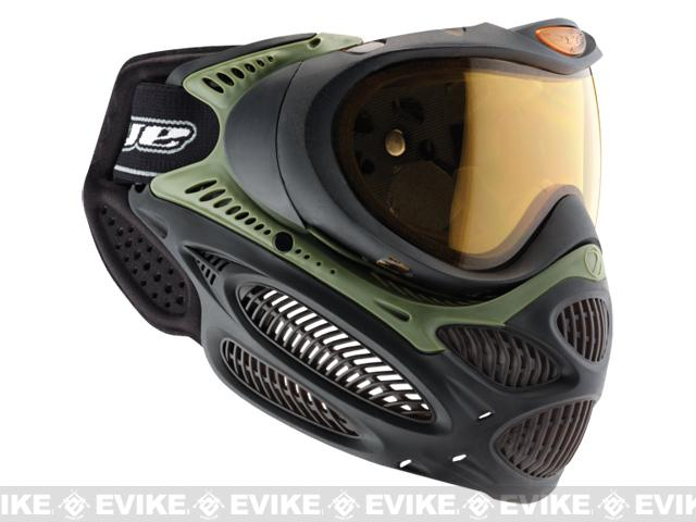 Dye i3 Pro Airsoft Full Face Mask - Olive / Thermal Lens