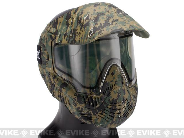 Annex MI-7 Full Face Airsoft Paintball Mask with Thermal Lens - Marpat