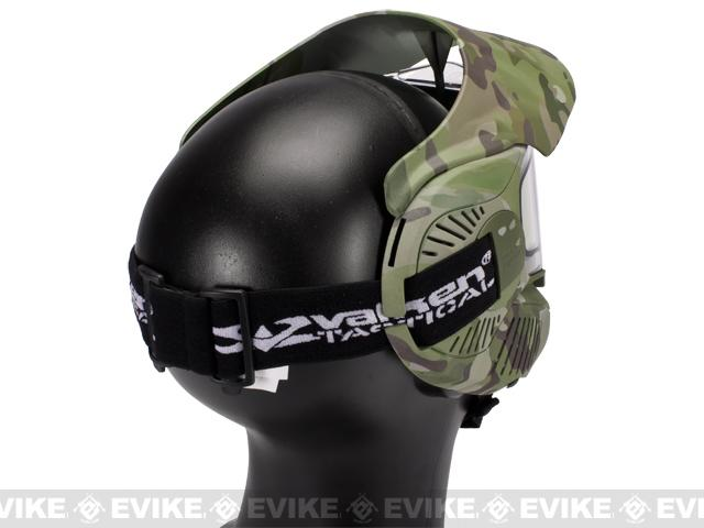 z Annex MI-7 Full Face Airsoft Paintball Mask with Thermal Lens - V-CAM