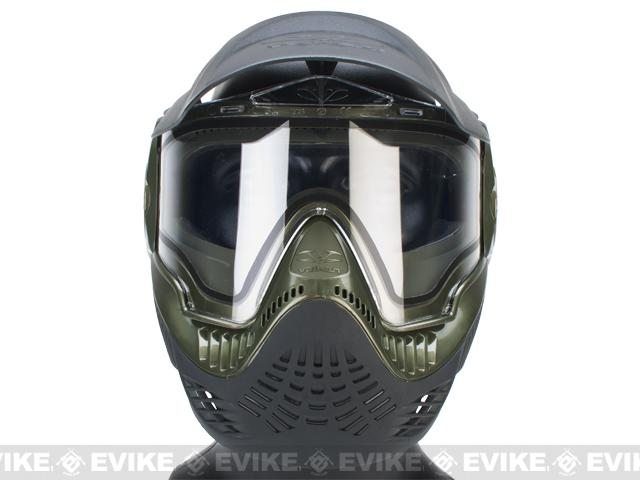 Annex MI-9 Full Face Mask by Valken - Black / Green