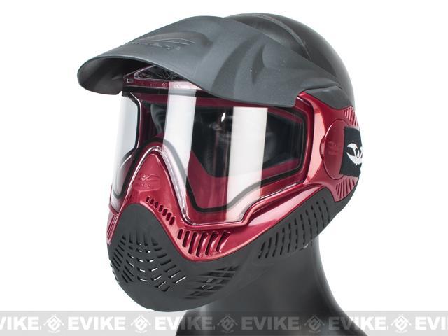 Annex MI-9 Full Face Mask by Valken - Black / Red
