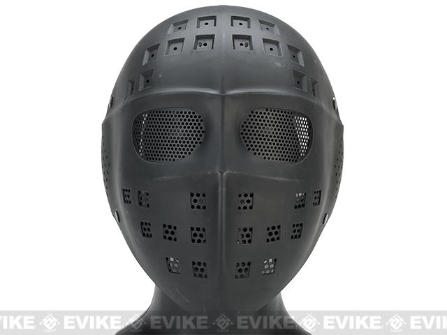 Avengers Wire Mesh Polymer Hockey Airsoft Full Face Mask (Color: Black)