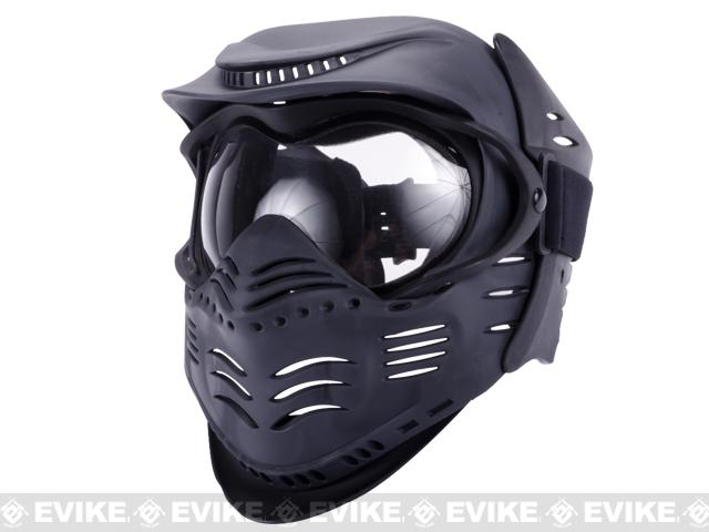 Lancer Tactical Full Face Airsoft Mask - Child Size