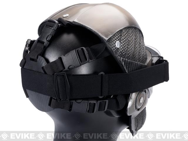 Evike.com R-Custom Fiberglass Crysis Mask w/ Full Seal Goggles - Tan