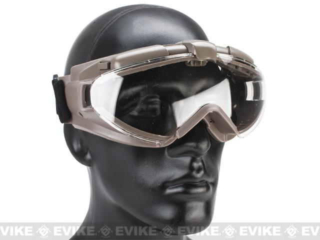 Avengers Turbo Fan Airsoft Goggles - Tan