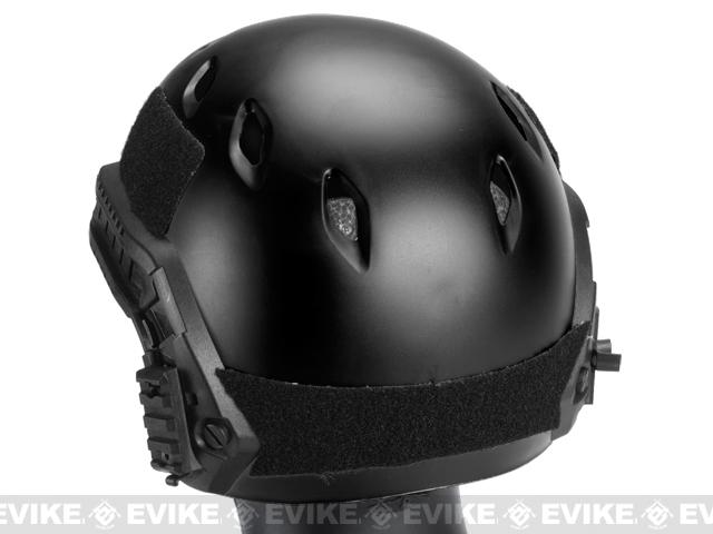 Avengers Bump Airsoft Helmet with Rails - Black