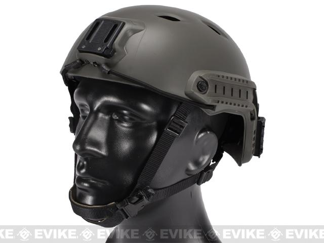 z Avengers Bump Airsoft Helmet with Rails - Foliage Green