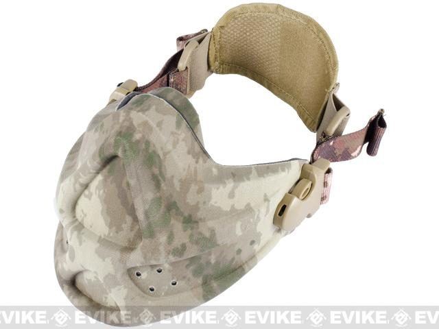 Matrix High Speed Lightweight Half Face Mask - (Arid Camo)