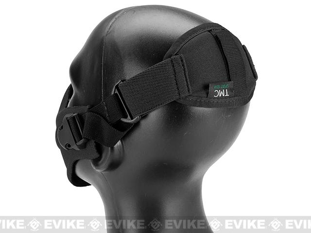 Matrix High Speed Lightweight Half Face Mask - (Black)