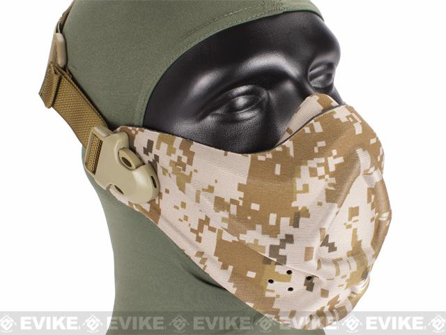 Matrix High Speed Lightweight Half Face Mask - (Digital Desert)