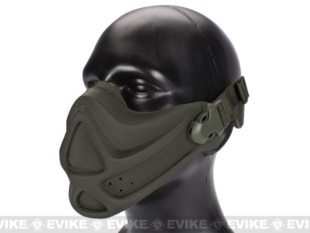 Matrix High Speed Lightweight Half Face Mask - (Foliage Green)