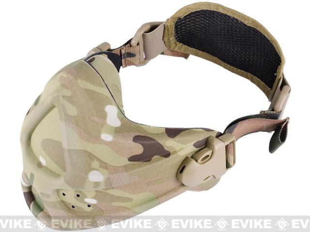 Matrix High Speed Lightweight Half Face Mask - Camo