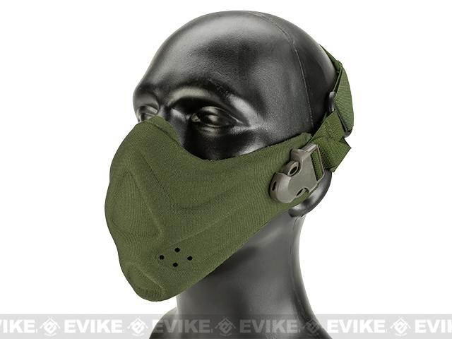Matrix High Speed Lightweight Half Face Mask - (OD Green)