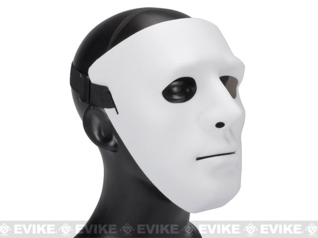 Koei Tactical Infantry Face Shield / Face Mask (Color: White)