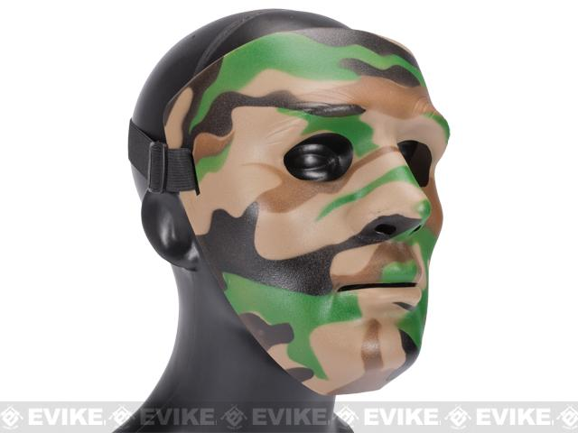 Koei Tactical Infantry Face Shield / Face Mask (Color: Woodland)