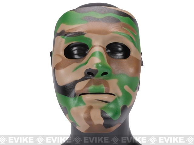Koei Tactical Infantry Face Shield / Face Mask - Woodland