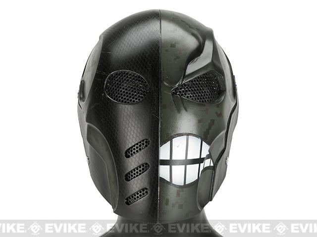 Evike.com R-Custom Fiberglass Wire Mesh Warface - Woodland Inspired by Deathstroke