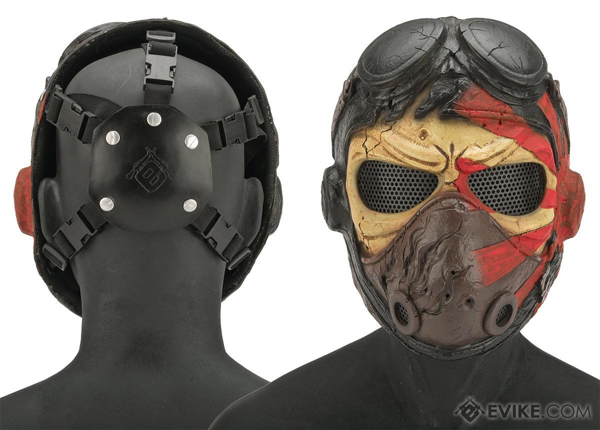 Evike.com R-Custom Fiberglass Wire Mesh Kamikaze Mask