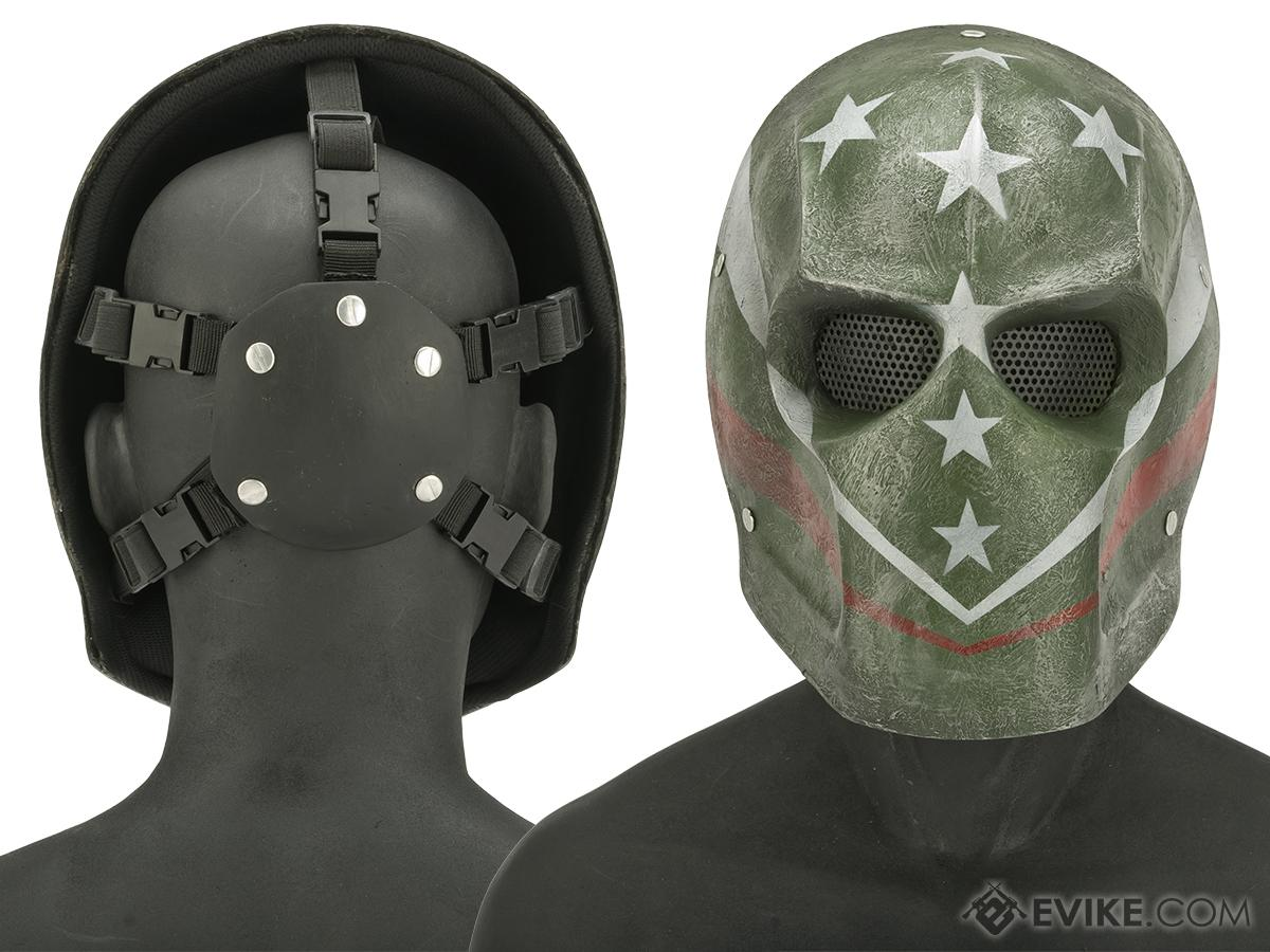 Evike.com R-Custom Fiberglass Wire Mesh Patriot Bob Mask