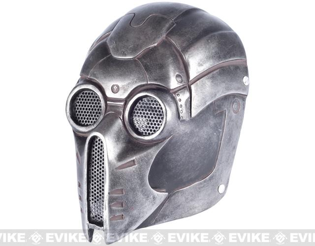 Evike.com R-Custom Fiberglass Wire Mesh Ghost Mask Inspired by Starcraft