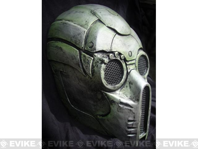Evike.com R-Custom Fiberglass Wire Mesh Ghost Mask Inspired by Starcraft - OD Green