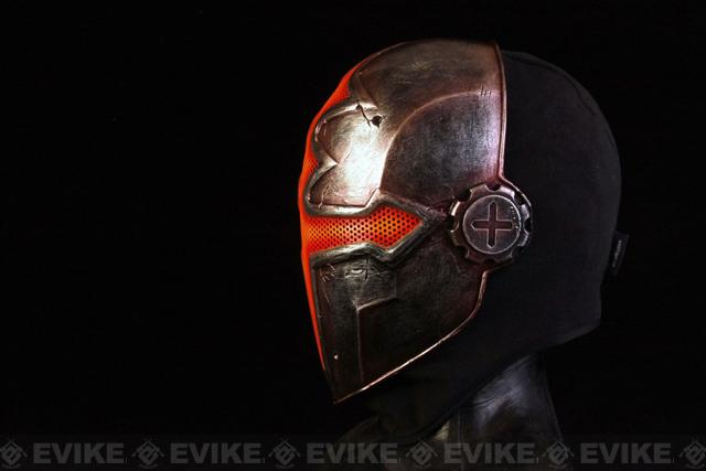 Evike.com R-Custom Fiberglass Wire Mesh Orange Paladin Mask Inspired by Hellgate