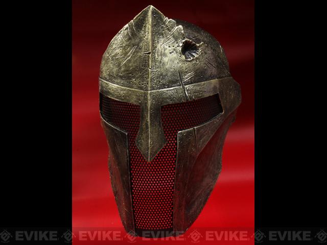 Evike.com R-Custom Fiberglass Wire Mesh Gold Spartan Mask Inspired by 300