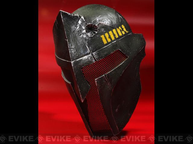 Evike.com R-Custom Fiberglass Wire Mesh OD Spartan Mask Inspired by 300