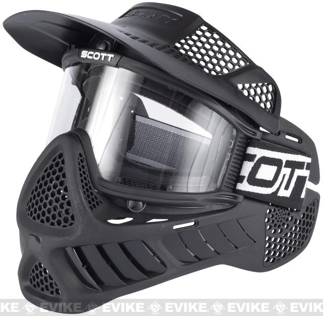 z SCOTT Vectra Single Airsoft Paintball Full Face Mask / Goggle