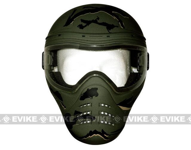 Save Phace Full Face Tactical Mask (Diss Series) - Diablo