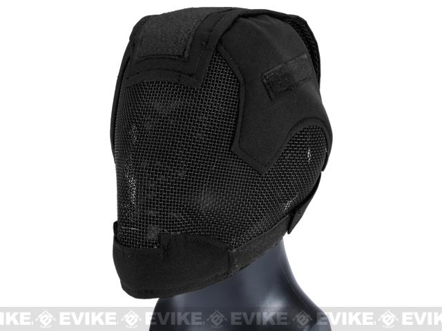 Pre-Order ETA August 2017 Matrix Striker Helmet Full Face Carbon Steel Mesh Mask / Helmet (Color: Black)