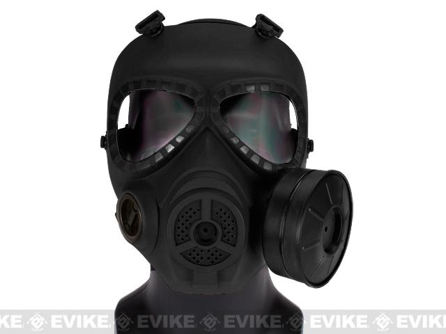Avengers Cosplay Toxic Gas Mask w/ Fan - Black (NOT a safety eye protection by itself)