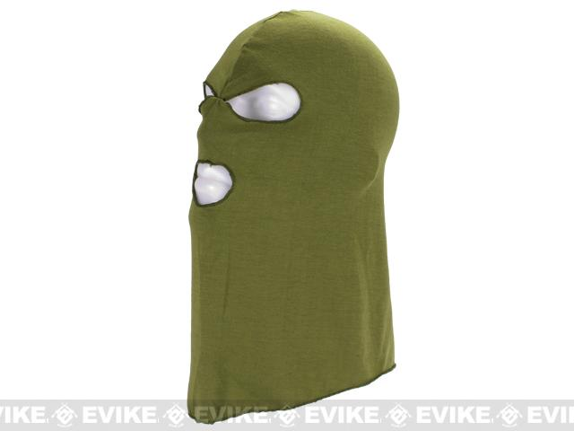 Matrix High Speed 3 Hole Balaclava - OD Green