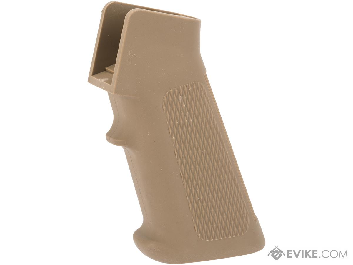 AIM Motor Pistol Grip for M4 / M16 Series Airsoft AEG w/ Heat Sink (Color: Dark Earth Tan)