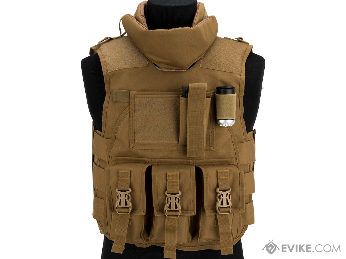 Matrix S.D.E.U. Ultra Light Weight Airsoft Tactical Vest (Color: Tan)