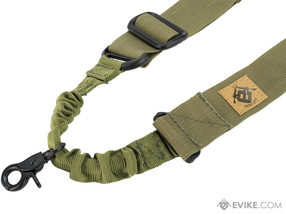 Matrix Tactical Gear Single Point Bungee Rifle Sling (Color: OD Green)